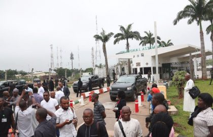 Prof. Osinbajo, Nigeria's Acting President Reacts to Unauthorized Takeover of NASS