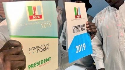 2019: APC Youth Leader Wants Reduction In Nomination Fees