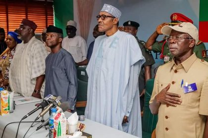 President Buhari's Points At APC NEC Meeting