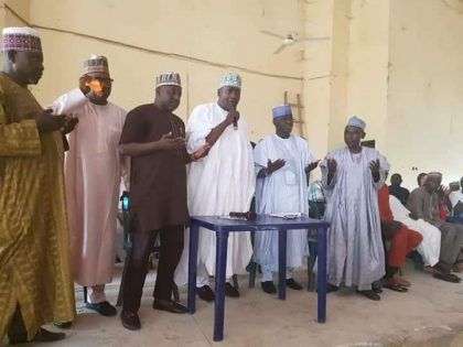 APC Cheiftains in Keffi, Nasarawa State Drum Support for Engr. A. A. Sule