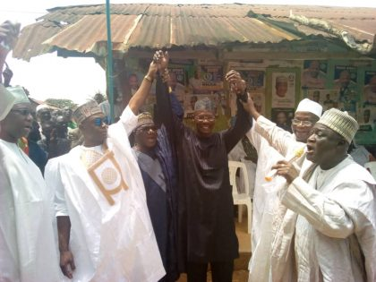 5 APC Governorship Aspirants in Nasarawa Steps Down for Engr. A. A. Sule