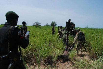 222 Battalion Ambushed Along Maiduguri-Bama Road