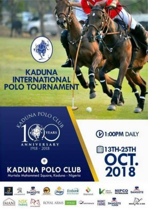 40 teams for Kaduna polo centenary tournament