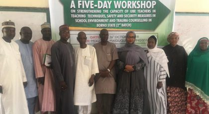 PCNI Trains 1,300 Teachers in The North East