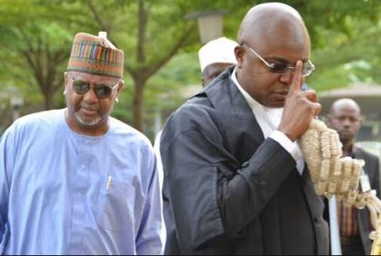 Federal Government Applies to Try Dasuki in Absentia