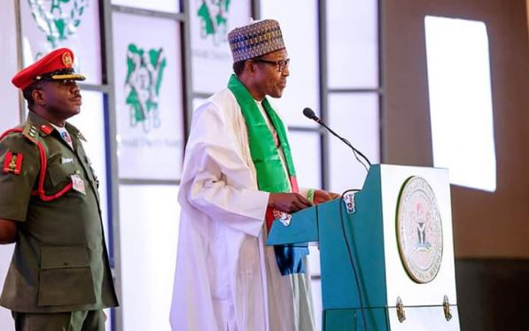 Buhari Unity Band Unveiled, Token Symbol of Our Resolve to Live in Unity, President Says
