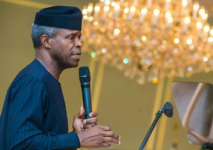 Consumer Spending in Africa was $1.4 Trillion by 2015 – VP Prof. Osinbajo