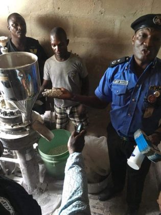 Police Bursted Fake Drugs Manufacturers in Lagos