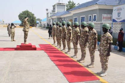 Defense Chief in Maiduguri Lauds Troops of Operation LAFIYA DOLE