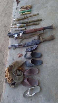 Troops Face-Off with Boko Haram in Gajiram
