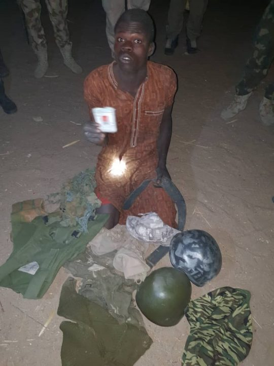 Wanted Boko Haram Terrorist Nabbed by Troops