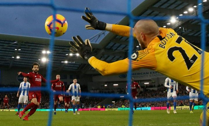 Salah penalty kick keeps Liverpool in EPL driving seat