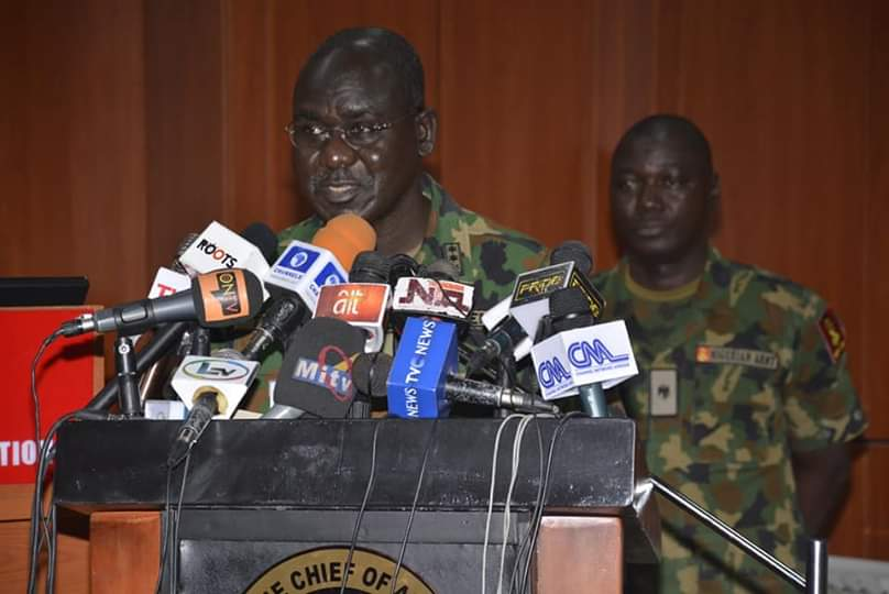 COAS Buratai Reads Riot Act to GOCs, Politicians, Political Thugs