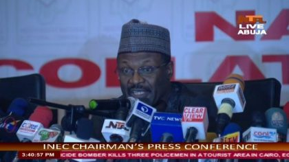 Breaking: INEC Delists APC Candidates In Cross River , Few Hours To The Elections