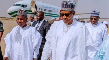 President Buhari Arrives In Katsina For Saturday's Elections