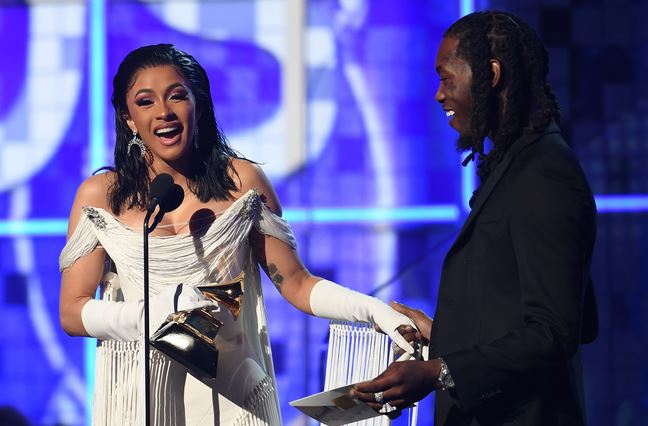 61st Grammy: Remy Ma, Lil Kim, Others Celebrate Cardi B's Historic Win