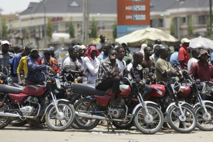 Commercial Motorcyclists, Police clash in Abuja