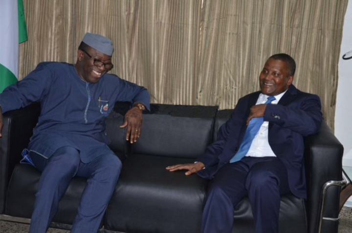 Kano youths commend Dangote, Fayemi for reconciling Kano leaders