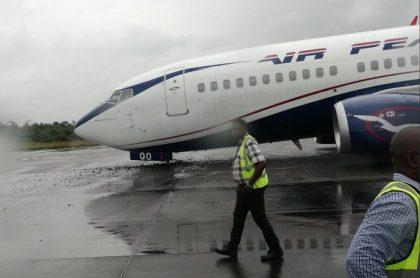 FAAN Update on Airpeace Emergency Landing