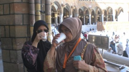 Saudi, NAHCON Assist Nigerian Pilgrims With Water Following Unbearable Heat