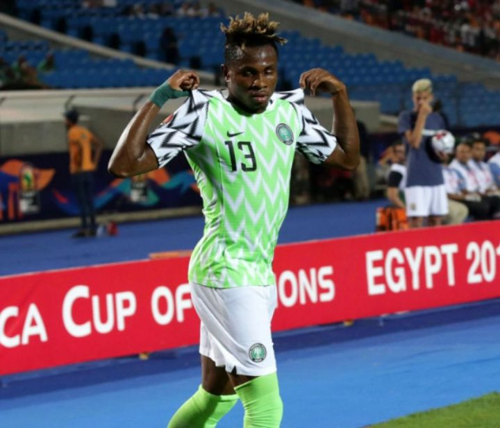 AFCON 2019: First Goal For Super Eagles Excites Chukwueze