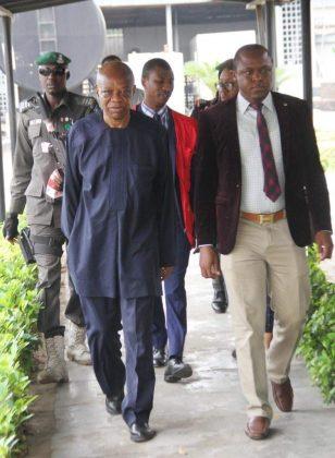 Maurice Iwu Back in Court, Gets N1b Bail
