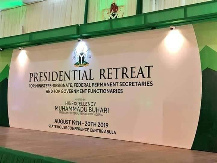 President Muhammadu Buhari's Address at Opening of Presidential Retreat for Ministers Designate