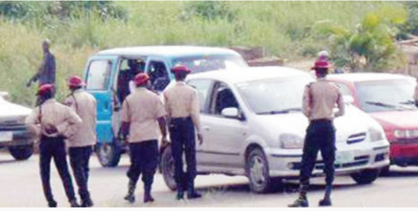 FRSC makes Arrest for Failing to Maintain Social Distance inside Vehicles