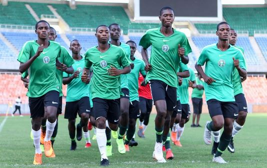 Golden Eaglets Begin Camping in Abuja Ahead of Brazil 2019