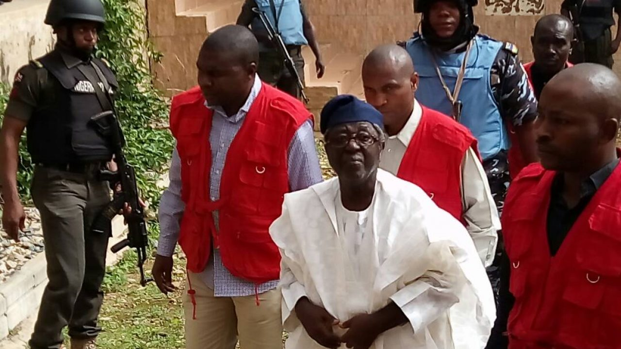 Former Plateau State Governor, Jang in Court