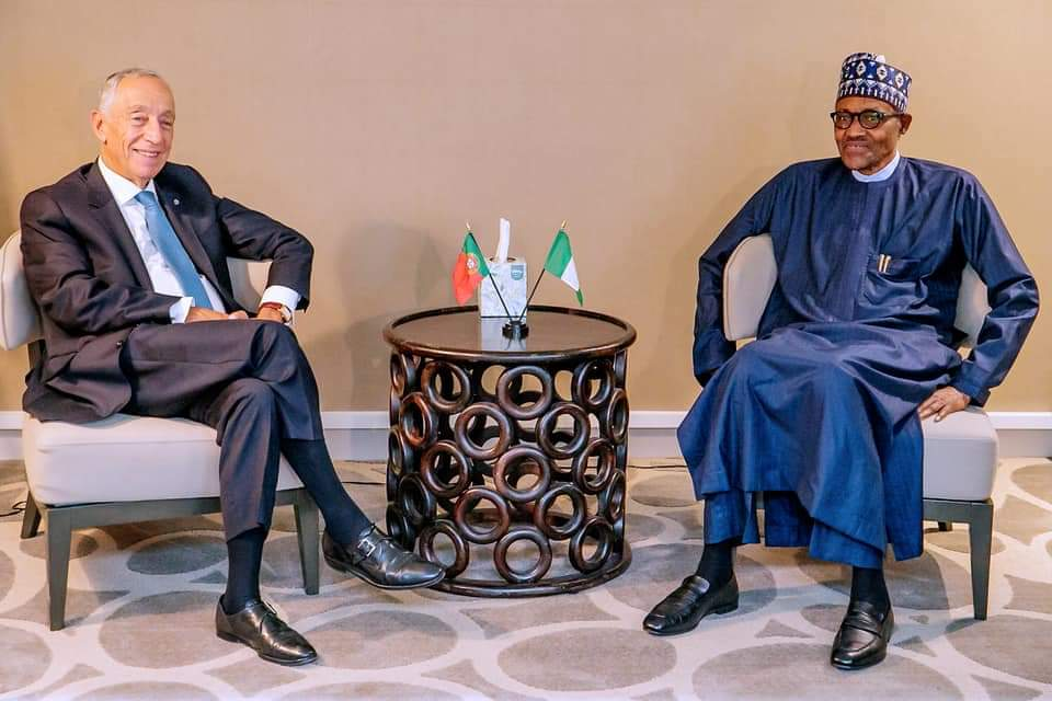 President Buhari to President of Portugal, Why We Focus on Security Infrastructure and Development