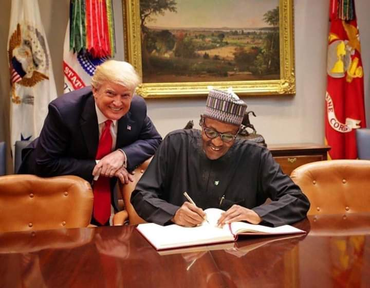 President Trump Sends to President Buhari Message on Nigeria's 59th Independence Anniversary