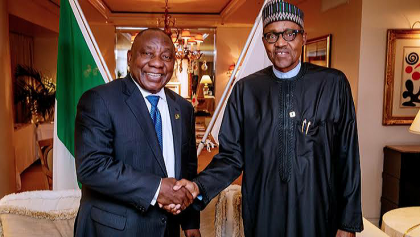 President Buhari Visits South Africa Over Welfare of Nigerians