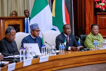 South African President  Remarks at State Banquet During President Buhari's Visits