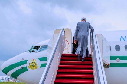 President Buhari Departs Abuja for Russia-Africa Summit in Sochi