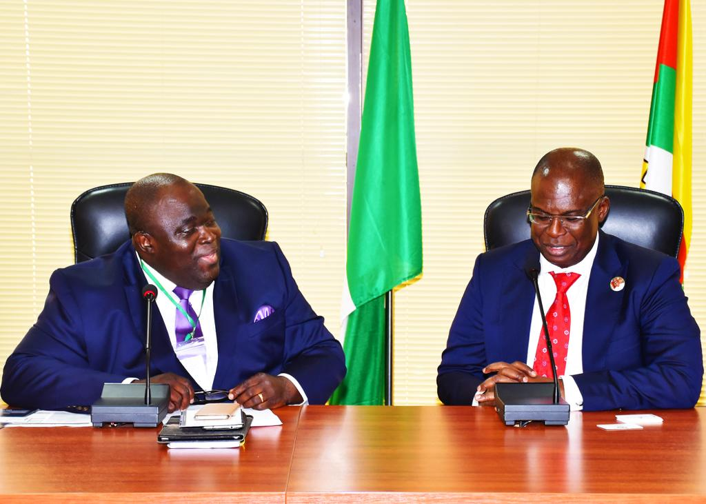 DG, Infrastructure Concession Regulatory Commission Visits State Petroleum Minister