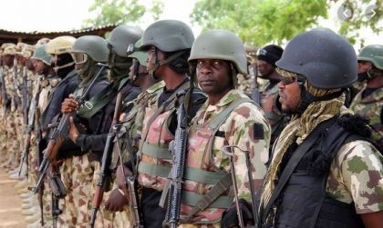 Army says terrorists falling to its superior power