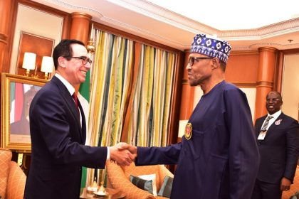 Nigeria, United States Discusses Infrastructure Financing