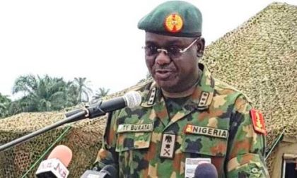 We're Resolute to End Insurgency – Army Chief