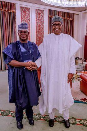 President Buhari Congratulates Yahaya Bello on Re-Election