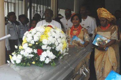 President Buhari Bids Farewell to Prof. Tam David-West