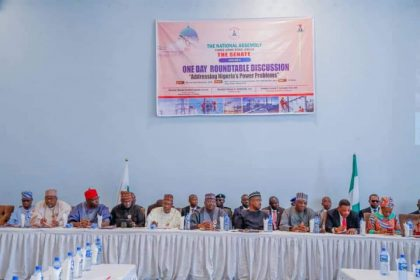 """Senate One Day Round Table Discussion """"Addressing Nigeria's Power Problems"""""""
