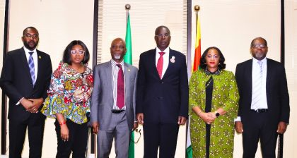 Minister of State for Petroleum, Sylva Receives Nigerian Gas Association