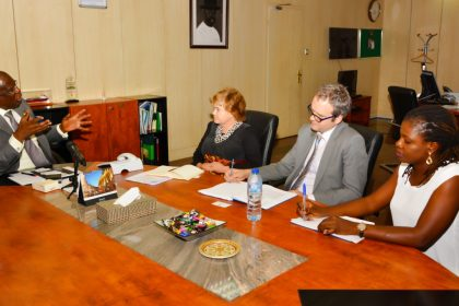 British High Commissioner, Liang Visits Sylva Discuss Robust Stakeholder Engagement