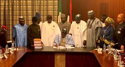 BREAKING: President Buhari Signs 2020 Budget
