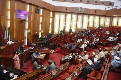 Nigeria Senate Proceedings of Tuesday 3rd November 2019