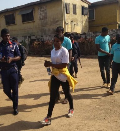 NSCDC receives Nigerian girl allegedly trafficked in Lebanon
