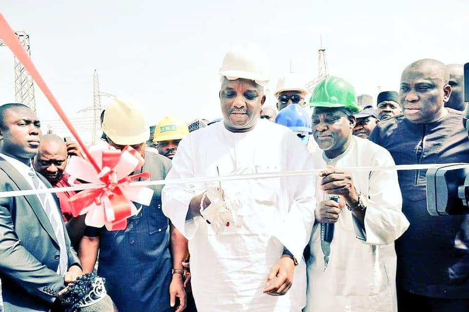 Minister of Power, Engr. Mamman Commissions Power Project in Katsina