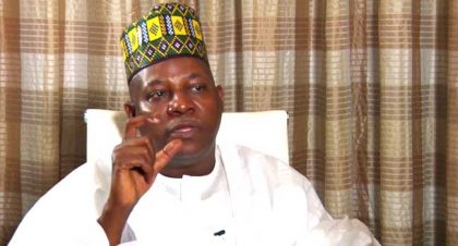 Ex-Governor of Borno State, Shettima Drum Support for President Buhari