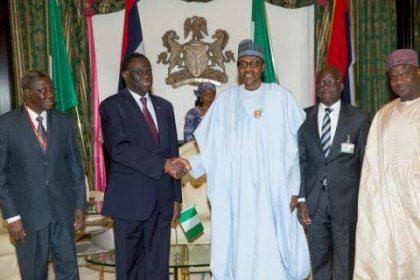 Nigeria's Border Land Closure: President Roch Kabore visits Aso Rock, meets Nigerian leader